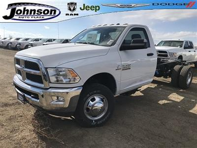 2018 Ram 3500 Regular Cab DRW 4x4,  Cab Chassis #C831795 - photo 1