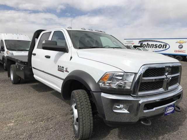 2018 Ram 5500 Crew Cab DRW 4x4,  Knapheide Platform Body #C857315 - photo 5
