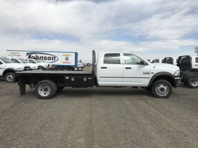 2018 Ram 5500 Crew Cab DRW 4x4,  Knapheide Platform Body #C857315 - photo 6