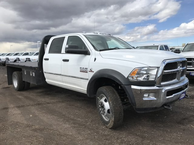 2018 Ram 5500 Crew Cab DRW 4x4,  Knapheide Platform Body #C862527 - photo 4