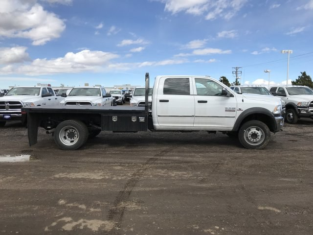 2018 Ram 5500 Crew Cab DRW 4x4,  Knapheide Platform Body #C862527 - photo 5