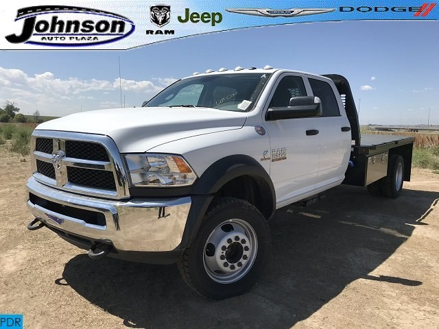 2018 Ram 5500 Crew Cab DRW 4x4,  Platform Body #C862536 - photo 1