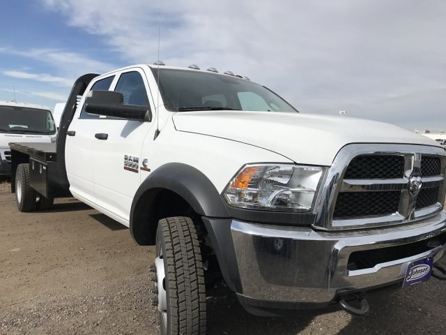 2018 Ram 5500 Crew Cab DRW 4x4,  Knapheide Platform Body #C871047 - photo 4