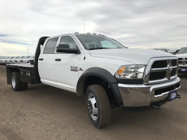 2018 Ram 5500 Crew Cab DRW 4x4,  Knapheide Platform Body #C871048 - photo 4