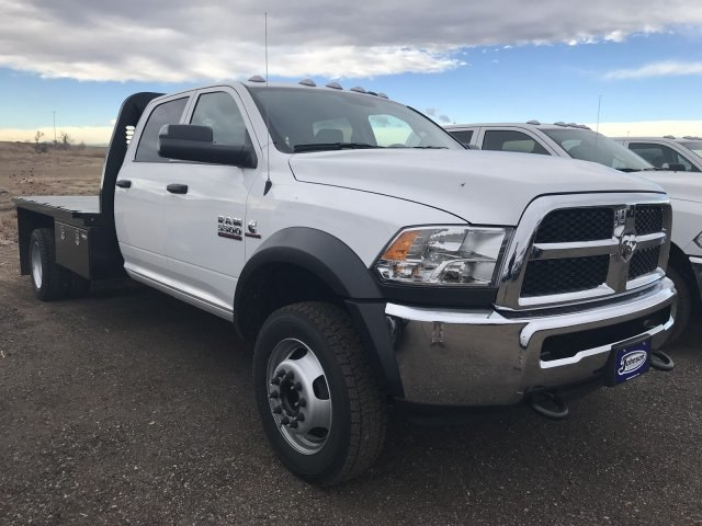2018 Ram 5500 Crew Cab DRW 4x4,  Knapheide Platform Body #C875624 - photo 4