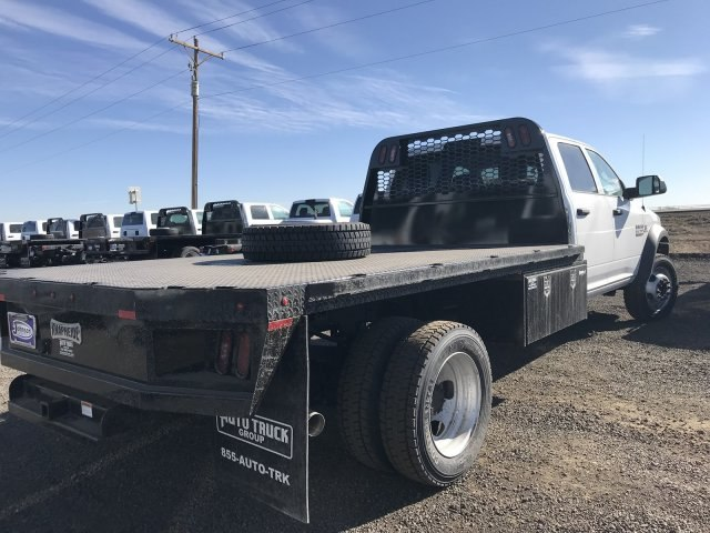 2018 Ram 5500 Crew Cab DRW 4x4,  Knapheide Platform Body #C877831 - photo 5