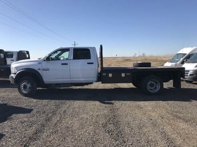2018 Ram 5500 Crew Cab DRW 4x4,  Knapheide Platform Body #C877831 - photo 7