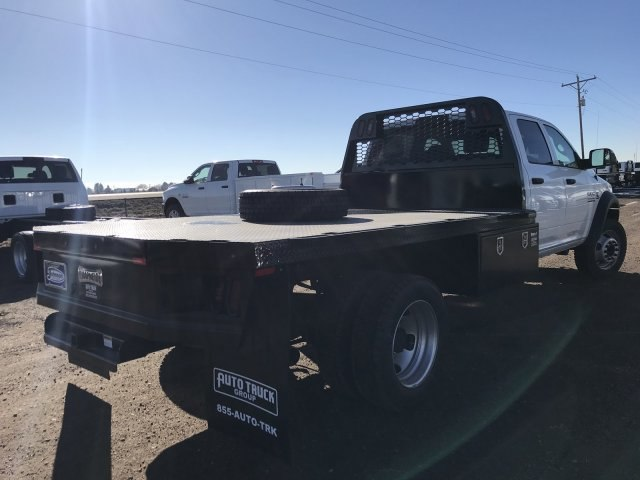 2018 Ram 5500 Crew Cab DRW 4x4,  Knapheide Platform Body #C877833 - photo 3