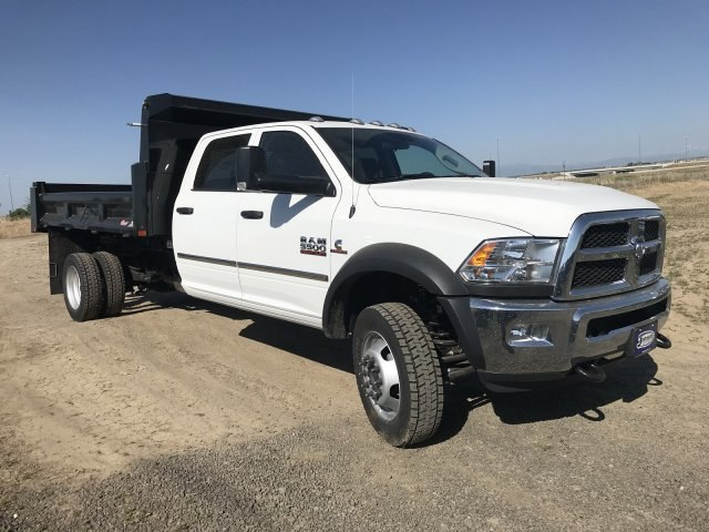 2018 Ram 5500 Crew Cab DRW 4x4,  Rugby Eliminator LP Steel Dump Body #C880869 - photo 4