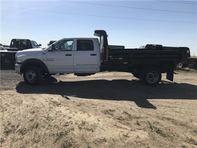 2018 Ram 5500 Crew Cab DRW 4x4,  Rugby Eliminator LP Steel Dump Body #C880869 - photo 7
