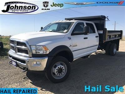 2018 Ram 5500 Crew Cab DRW 4x4,  Rugby Eliminator LP Steel Dump Body #C880869 - photo 1