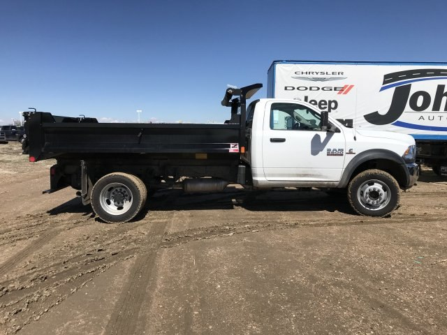 2018 Ram 5500 Regular Cab DRW 4x4, Monroe Dump Body #C885661 - photo 4