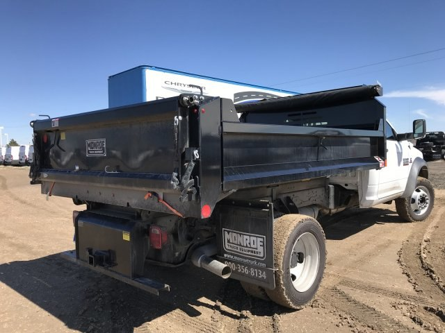 2018 Ram 5500 Regular Cab DRW 4x4, Monroe Dump Body #C885661 - photo 5