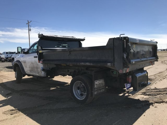 2018 Ram 5500 Regular Cab DRW 4x4, Monroe Dump Body #C885661 - photo 2