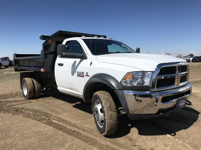 2018 Ram 5500 Regular Cab DRW 4x4, Monroe Dump Body #C885661 - photo 16
