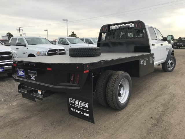2018 Ram 5500 Crew Cab DRW 4x4,  Knapheide Platform Body #C885664 - photo 6