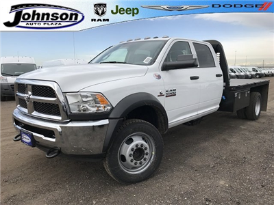 2018 Ram 5500 Crew Cab DRW 4x4, Platform Body #C885664 - photo 1