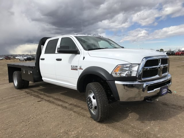 2018 Ram 5500 Crew Cab DRW 4x4,  Knapheide Platform Body #C885665 - photo 4