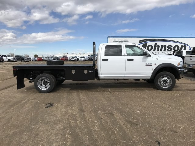2018 Ram 5500 Crew Cab DRW 4x4,  Knapheide Platform Body #C885665 - photo 5