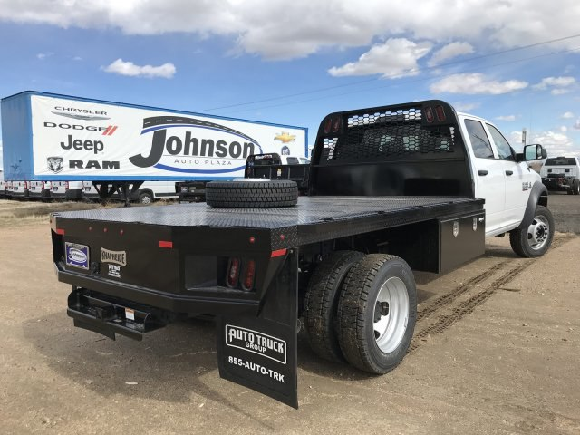2018 Ram 5500 Crew Cab DRW 4x4,  Knapheide Platform Body #C885665 - photo 6
