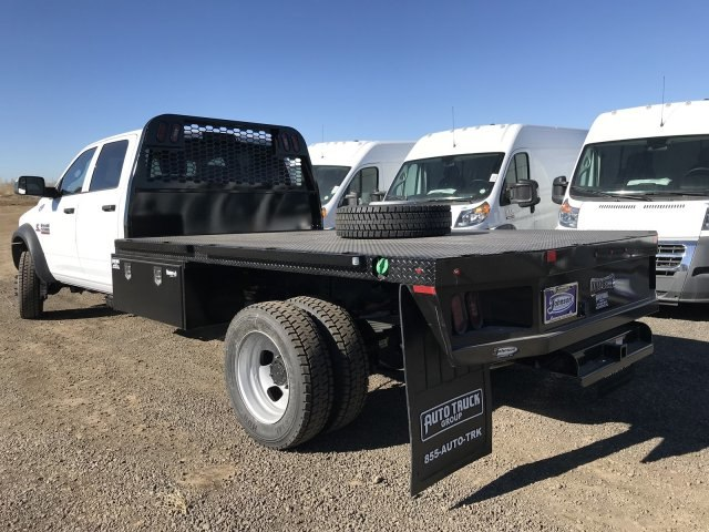 2018 Ram 5500 Crew Cab DRW 4x4,  Knapheide Platform Body #C885666 - photo 2