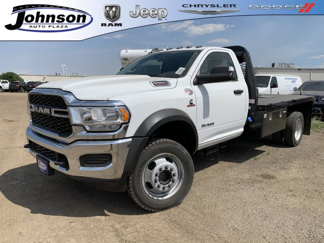 2019 Ram 5500 Regular Cab DRW 4x4,  Knapheide Platform Body #C983089 - photo 1