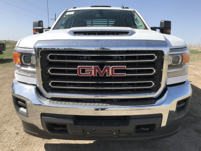 2018 Sierra 3500 Crew Cab DRW 4x4, Platform Body #G8233202 - photo 3