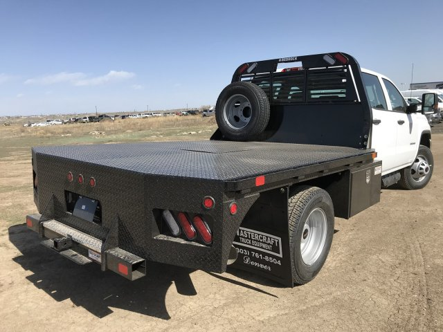 2018 Sierra 3500 Crew Cab DRW 4x4, Platform Body #G8233202 - photo 6