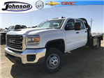 2018 Sierra 3500 Crew Cab DRW 4x4, Platform Body #G8233202 - photo 1