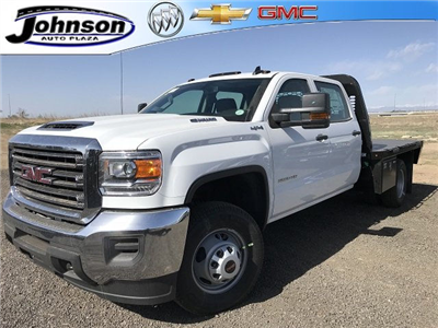 2018 Sierra 3500 Crew Cab DRW 4x4, Platform Body #G833102 - photo 1