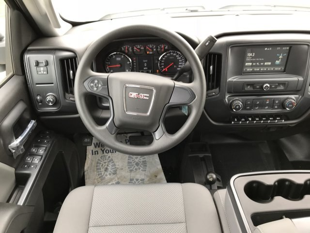 2018 Sierra 3500 Crew Cab DRW 4x4,  Bedrock Platform Body #G833821 - photo 8