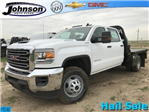 2018 Sierra 3500 Crew Cab DRW 4x4,  Bedrock Platform Body #G833821 - photo 1