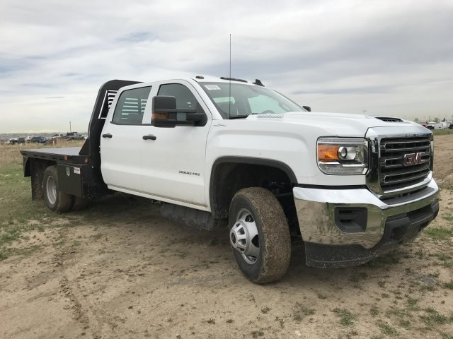2018 Sierra 3500 Crew Cab DRW 4x4, Platform Body #G834274 - photo 4