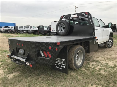 2018 Sierra 3500 Crew Cab DRW 4x4, Platform Body #G834274 - photo 6