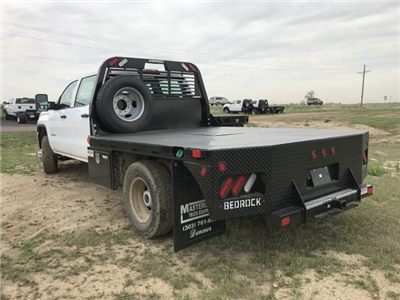 2018 Sierra 3500 Crew Cab DRW 4x4, Platform Body #G834274 - photo 2