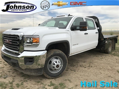 2018 Sierra 3500 Crew Cab DRW 4x4,  Platform Body #G834274 - photo 1