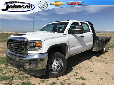 2018 Sierra 3500 Crew Cab DRW 4x4, Platform Body #G835412 - photo 1