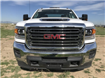 2018 Sierra 3500 Crew Cab DRW 4x4, Platform Body #G835412 - photo 3