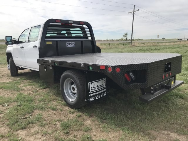 2018 Sierra 3500 Crew Cab DRW 4x4,  Freedom Platform Body #G835642 - photo 2