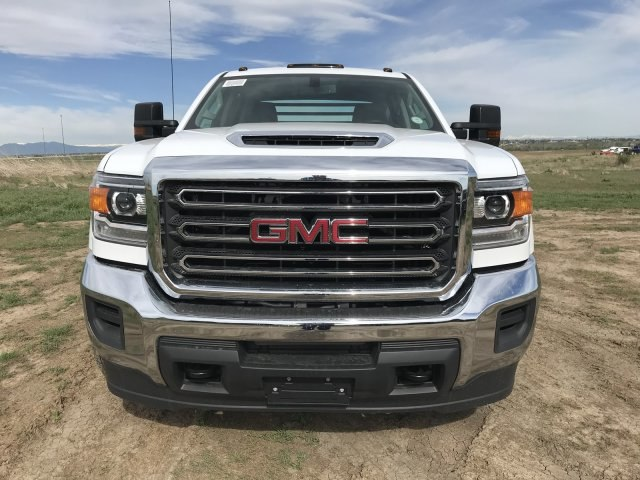 2018 Sierra 3500 Crew Cab DRW 4x4,  Freedom Platform Body #G836346 - photo 3