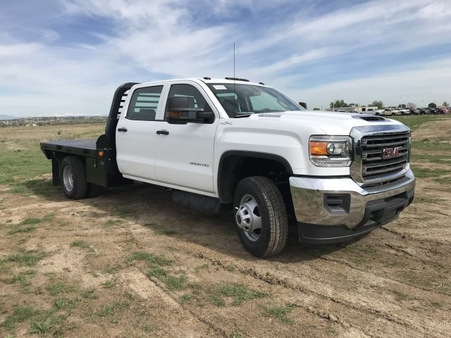 2018 Sierra 3500 Crew Cab DRW 4x4,  Freedom Platform Body #G836346 - photo 4