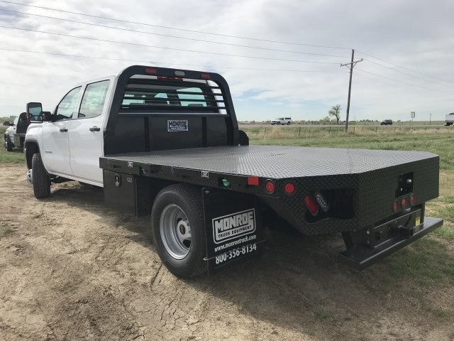 2018 Sierra 3500 Crew Cab DRW 4x4,  Freedom Platform Body #G836346 - photo 2