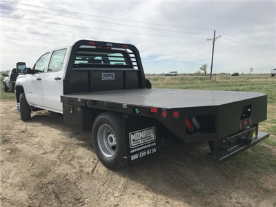 2018 Sierra 3500 Crew Cab DRW 4x4,  Platform Body #G836346 - photo 2