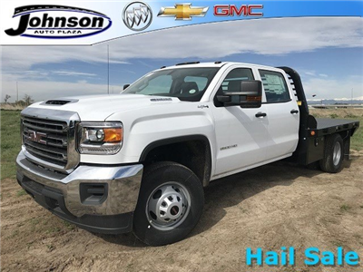 2018 Sierra 3500 Crew Cab DRW 4x4,  Platform Body #G836346 - photo 1