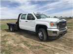 2018 Sierra 3500 Crew Cab DRW 4x4,  Platform Body #G836346 - photo 4