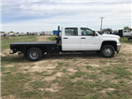 2018 Sierra 3500 Crew Cab DRW 4x4,  Platform Body #G836346 - photo 5