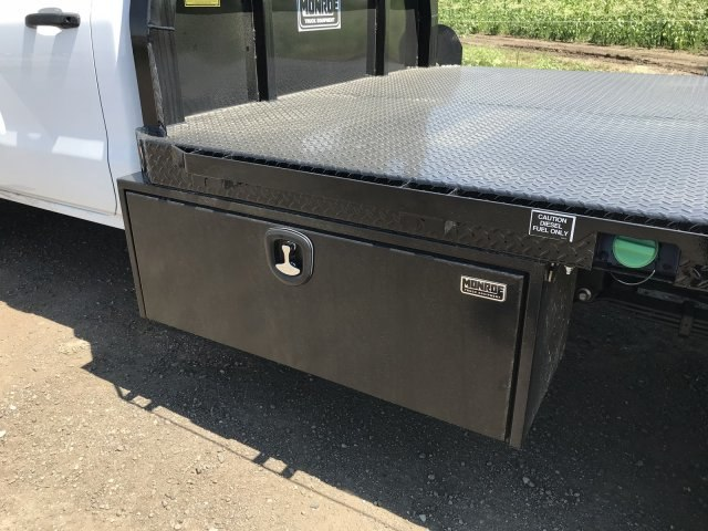 2018 Sierra 3500 Regular Cab DRW 4x4,  Platform Body #G860300 - photo 15