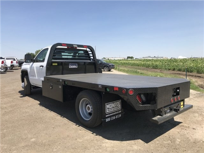 2018 Sierra 3500 Regular Cab DRW 4x4,  Platform Body #G860300 - photo 2