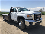 2018 Sierra 3500 Regular Cab DRW 4x4,  Platform Body #G860300 - photo 4
