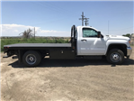 2018 Sierra 3500 Regular Cab DRW 4x4,  Platform Body #G860300 - photo 5